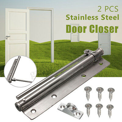 Lot Adjust Stainless Steel Surface Mounted Auto Fire Rated Closing Door Closer