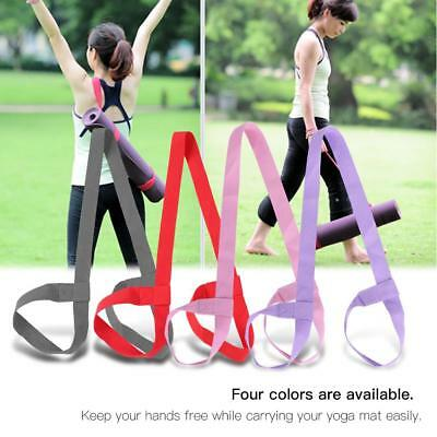 Adjustable Yoga Mat Sling Strap Holder Carrier Belt Sports Gym Mat Carry Strap