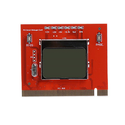 LCD PCI PC high quality Computer Analyzer Tester Diagnostic Card