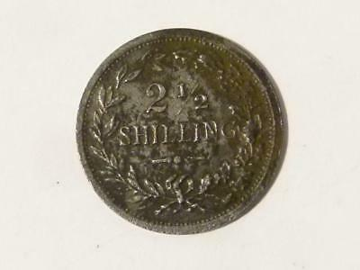 Antique Victorian 2 and 1/2 Shilling Toy Model Play Coin Miniature #29*