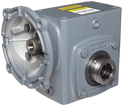 Boston Gear HF72125KB5HP20 Right Angle Gearbox, NEMA 56C Flange Input, Hollow Ou