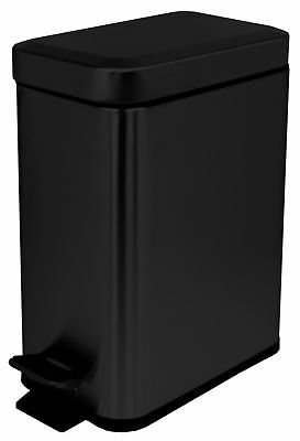 Home Basics Stainless Steel 1.32 Gallon Step On Trash Can