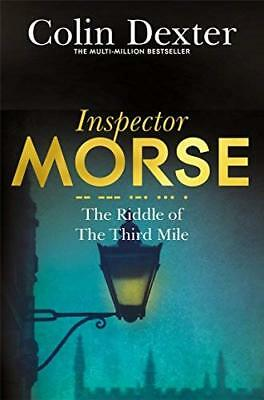 Riddle of the Third Mile by Colin Dexter New Paperback / softback Book