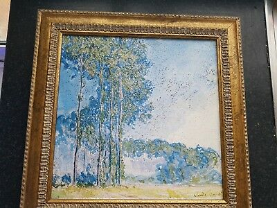 "Claude Monet ""Poplars"""