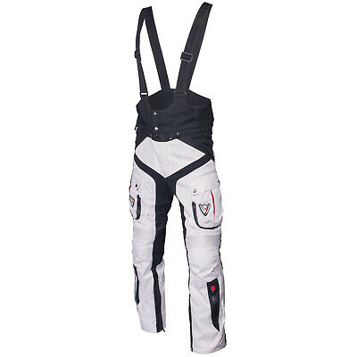 Mugen Bib and Brace Motorcycle Bike CE Armour Reinforced Trousers