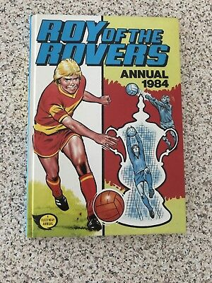 Roy of the Rovers Annual 1984 Vintage Football/Soccer Nostalgia