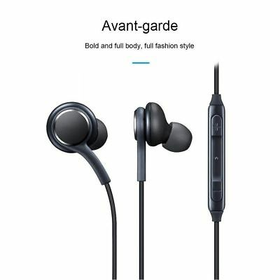 Stereo Earbuds In-Ear Earphones For Samsung Galaxy S8 S9 Note 8 AKG Headset US