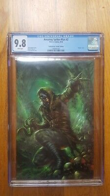 Amazing Spider-Man 2 Cgc 9.8 Lg 803 Lucio Parrillo Virgin New Villain Variant Wp