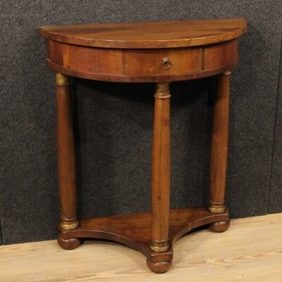 Console side table wood antique style Empire furniture living room 900