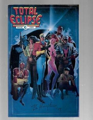 TOTAL ECLIPSE 1 SIGNED BY BO HAMPTON Strike Prowler Valkyrie Airboy Black Angel