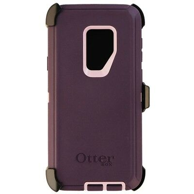 OtterBox Defender Series Protective Case Cover for Galaxy S9+ - Purple Nebula
