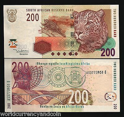 SOUTH AFRICA 50 RAND P130 B 2005-2009 LION OIL REFINERY UNC ANIMAL BILL BANKNOTE
