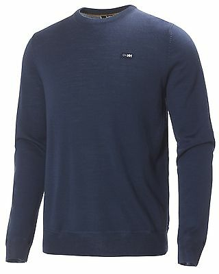 HH Helly Hansen Mountain Round Neck  51485 deep steel  Pullover Strickpullover