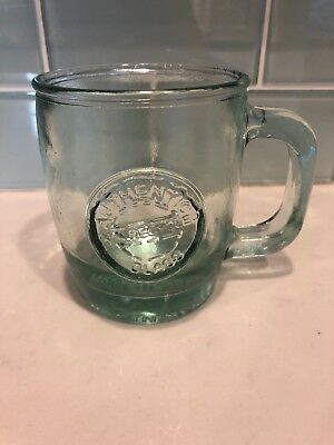 Starbucks Coffee 100 Blue Recycled Gl Mug Tumbler Excellent San Miguel