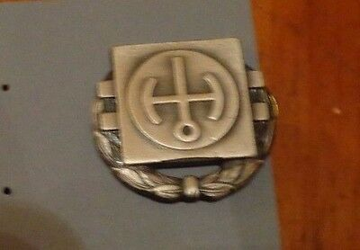 U.s.army Badge, Obsolete,nuclear Reactor Operators Badge, Second Class