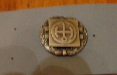 U.S. ARMY NUCLEAR REACTOR OPERATORS BADGE, 1ST CLASS, obsolete badge, FULL SIZE