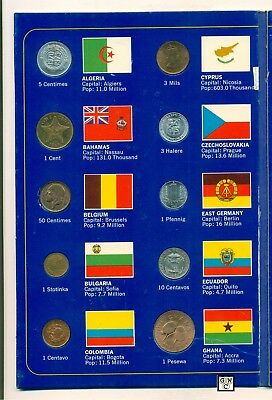 20 Coins of the world Set from 20 different Countries (OOAK)