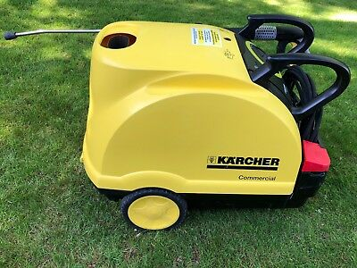 Karcher HDS 601 C Eco Pressure Washer & Steam Cleaner with 20m Hose