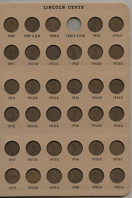 Lincoln Cent Penny Set 1909 - 1984 Collection & 7100 Dansco Album Pennies AT758