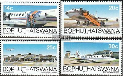 Bophuthatswana 177-180 (complete.issue.) unmounted mint / never hinged 1986 BOP