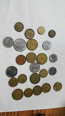 BRAZIL 24 Coins; 1940s and up .....NR