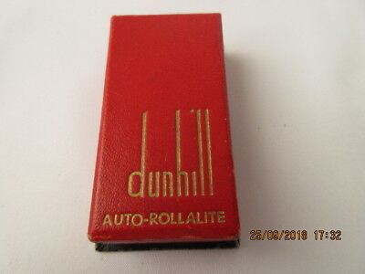 Accendino Lighter Dunhill London Small Auto-Rollarite Benzina  Anno 1950/55