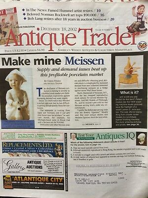 """Large Lot of Magazine """"Antique Trader,"""" 1/2 Page Newsprint, 97 issues, 2002-2008"""