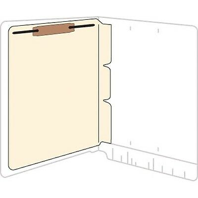 Self-adhesive Folder Dividers With Fasteners - Letter - 11 pt custom, new wider