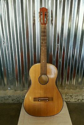 vintage Rare Fritz Otto Kaiser Acoustic guitar 1965 made in w. Germany