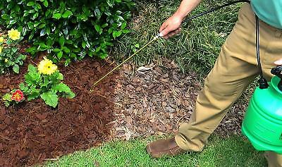 Mulch Brite Mulch Colorant Dye Cocoa Brown Covers Up To 300 Sq Ft