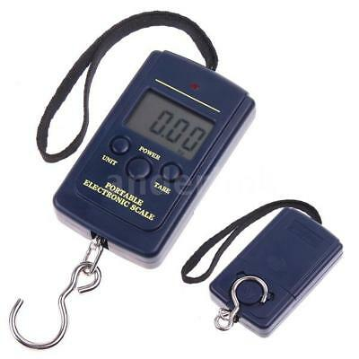 Mini Digital Fishing Hanging Luggage 40Kg 10g Weighing Hook Pocket Scale Z6X0