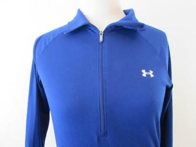 UNDER ARMOUR womens Sm semi fitted 1/2 zip pullover jacket base layer