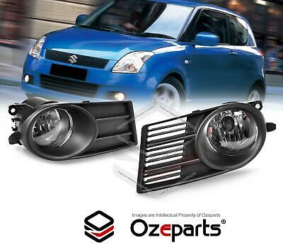 Full Set Fog Light Spot Driving Lamp KIT For Suzuki Swift EZC21 2005~2007