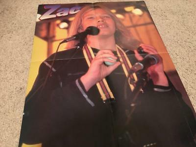 Zac Hanson Taylor Hanson teen magazine poster clipping let's do this rare one