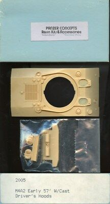 Panzer Concepts 1:35 M4A2 Early 57' With Cast Driver's Hoods #2005