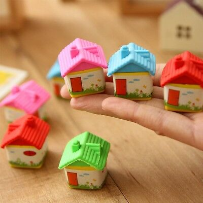Cute Girl Kid Creative Rubber Students Office Stationery Pencil Eraser Gift Toy