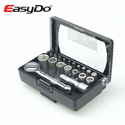 EasyDo Bicycle Torque Wrench Tools Kit Ferramenta Bike Repair Set 16 Functions