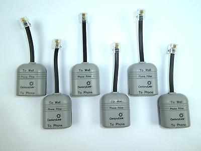 Lot of 6 CenturyLink Suttle DSL Phone Line Conditioners / Filters 900LC4-03Q