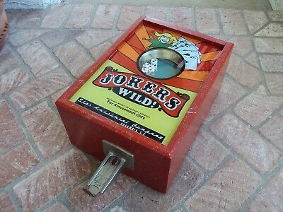 Antique Trade Stimulator - Jokers Wild 1953 - Very Good - Rare - Works Great