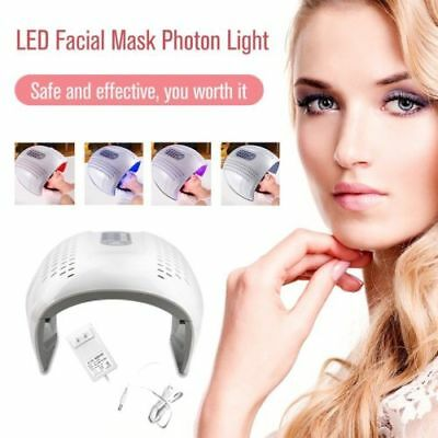 SPA Photon Therapy Facial LED Light PDT Skin Rejuvenation Beauty Salon AU
