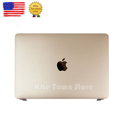 "Retina LCD Screen Display Assembly for 12"" Macbook A1534 2015 2016 Gold"