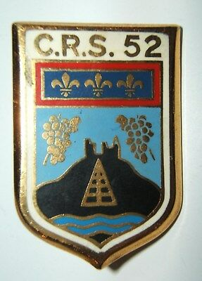 INSIGNE C.R.S. 52 - Drago - OBSOLETE POUR COLLECTION