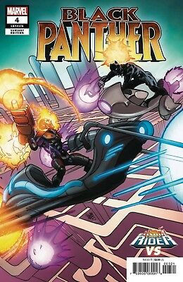 Black Panther #4 Ferry Cosmic Ghost Rider Variant Marvel Comics Near Mint 9/26