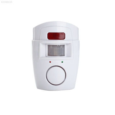 8761 Entry Safety Anti-Theft Motion Sensor Alarm Wireless 2 Remote Controller