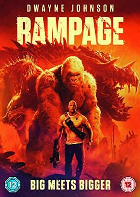 Rampage [DVD] [2018] - DVD  7HVG The Cheap Fast Free Post