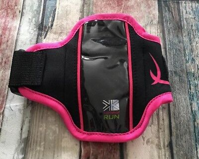 KARRIMOR MULTI ARM RUN WALLET RUNNING - works with touch screen phone -PINK