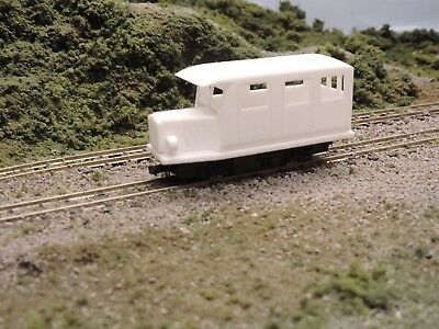 009 3d Printed Railbus for Kato Chassis 11-103 Chassis