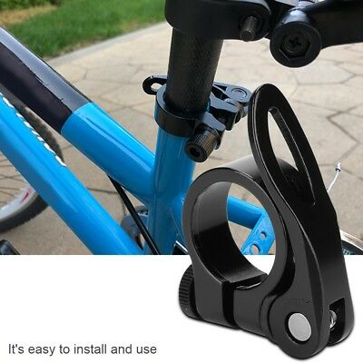 Mountain Bike Seatpost Clamp Quick Release Bicycle Seat Post Clamp 28.6mm Solid