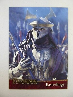 TOPPS Lord of the Rings: The Two Towers - Card #17 EASTERLINGS
