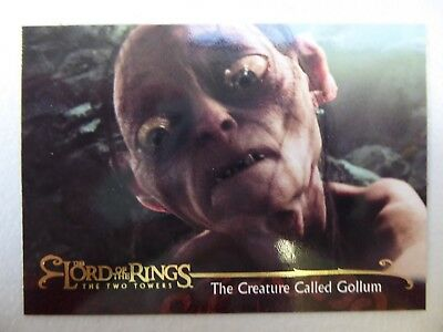 TOPPS Lord of the Rings: The Two Towers - Card #96 THE CREATURE CALLED GOLLUM
